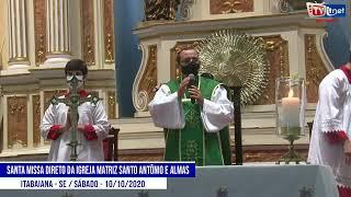 Reproduzir Santa Missa direto da Igreja Matriz Santo Antônio e Almas