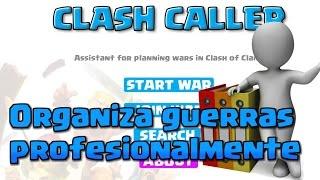 Clash Caller: Organizador de Guerras para Clash of Clans