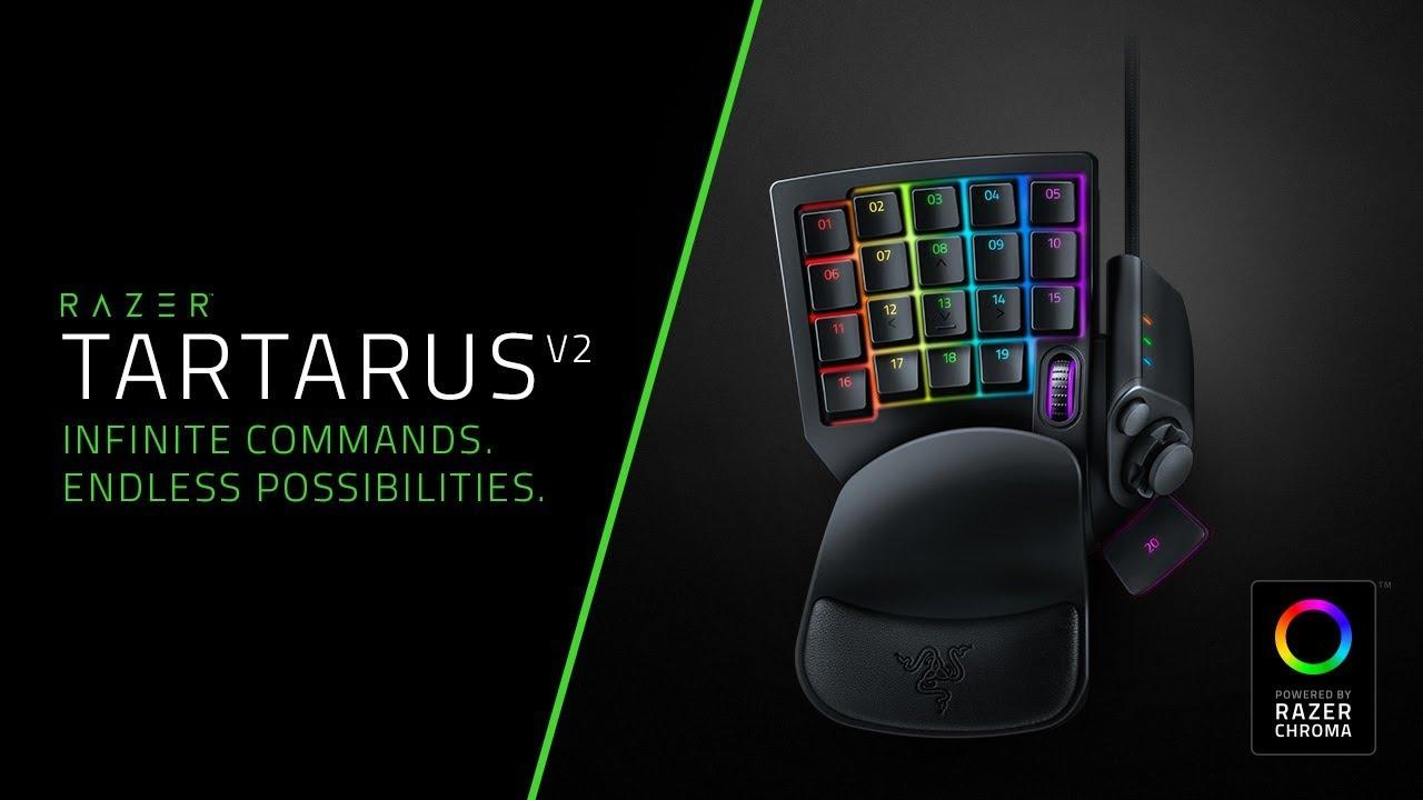 Razer Tartarus V2 Gaming Keypad Tastatur KomplettBedrift.no
