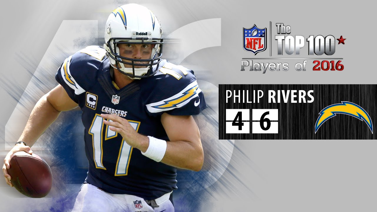 new product e4577 46303 #46: Philip Rivers (QB, Chargers) | Top 100 NFL Players of 2016
