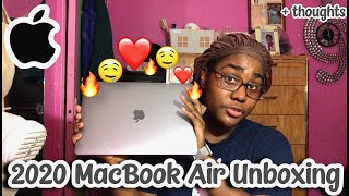 THE NEW MACBOOK AIR 2020 SPACE GRAY UNBOXING + IMPRESSIONS !