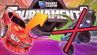 NEVER switch cars in the middle of a Rocket League tournament
