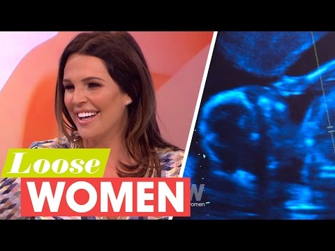 Danielle Lloyd Discovers the Sex of Her Unborn Baby on Live TV! | Loose Women