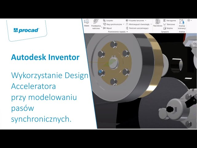 Wykorzystanie Design Acceleratora przy modelowaniu pasów synchronicznych na przykładzie pojazdu