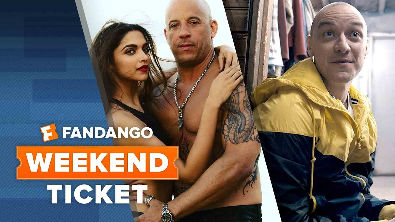 xXx: Return of Xander Cage, Split, The Founder | Weekend Ticket