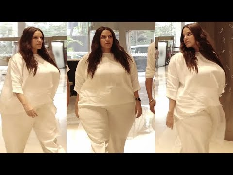 Neha Dhupia SH0CKING Weight Gain Post Delivery