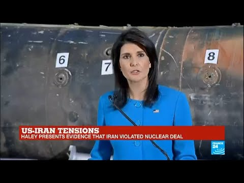 "US - Haley says ballistic missile shot by Houthi rebels on Riyadh airport was ""made in Iran"""