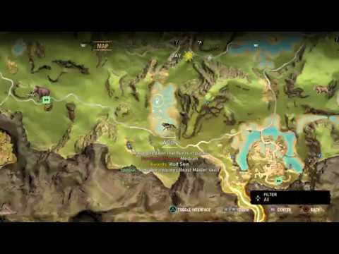 how to get stripe wolf skin in far cry primal