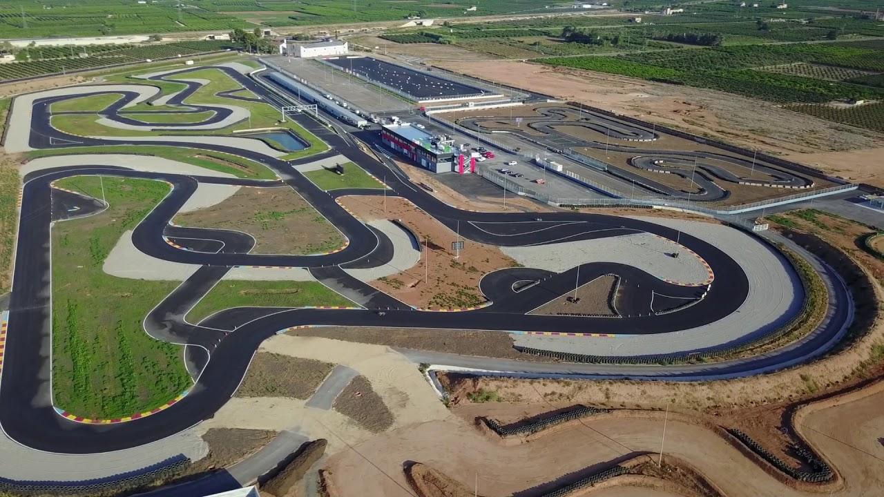 Circuito Ribera : Circuit de la ribera desde el aire youtube