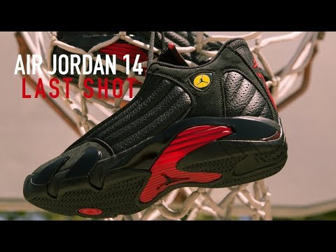 aa9a7f32b2fd FIRST LOOK  Air Jordan 14  Last Shot  + ON FEET