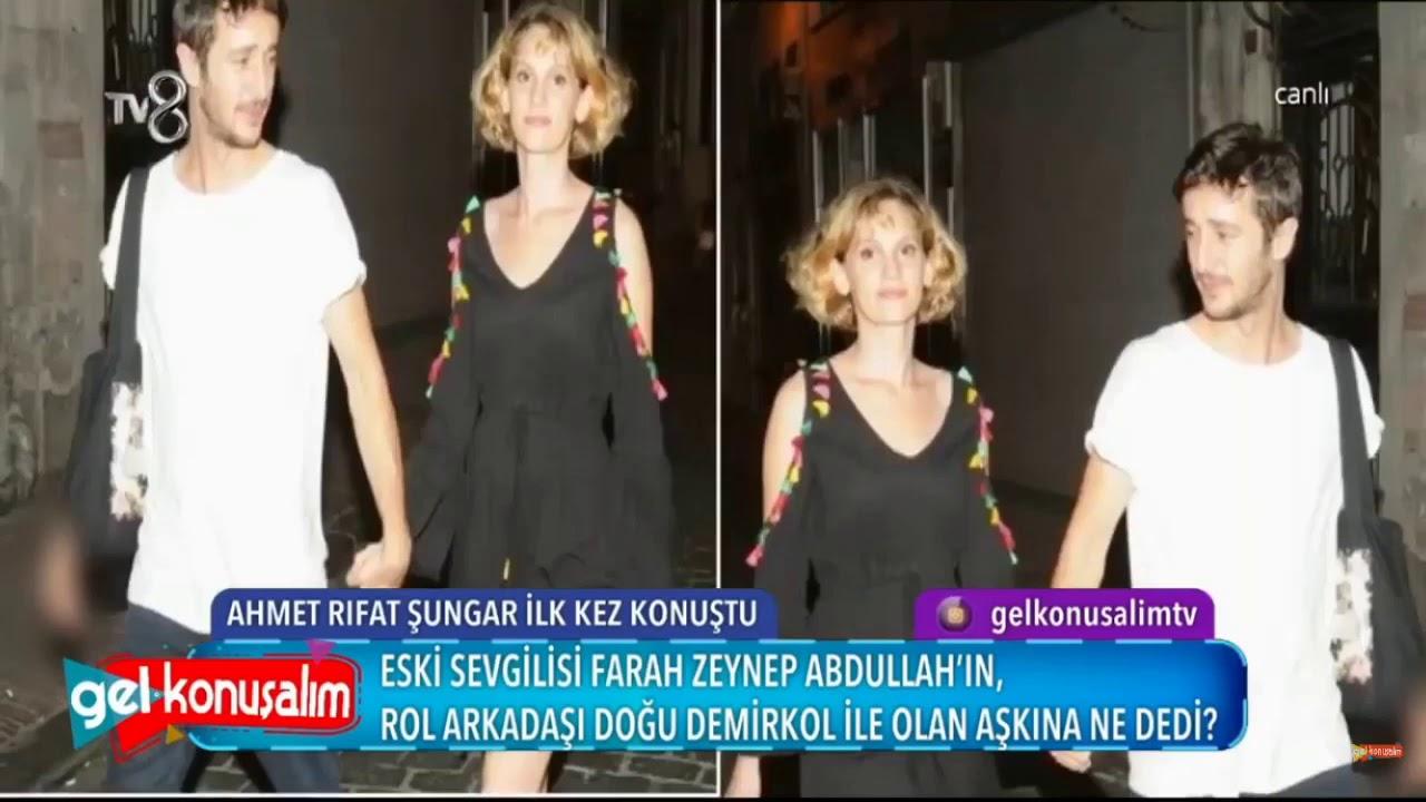 Farah Zeynep Abdullah Ve Dogu Demirkol Iliskisine Eski Sevgili Ahmet Rifat Sungar Dan Sasirtan Tepki Youtube