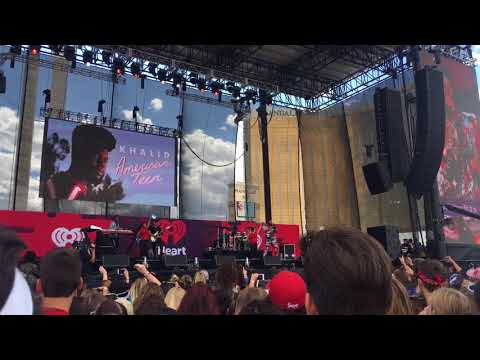 Khalid @iheartradio daytime village music festival performing Another Sad Love Song❤️
