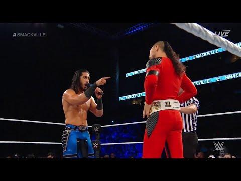 Download FULL MATCH - Shinsuke Nakamura vs. Ali - Intercontinental Championship Match: WWE Smackville 2019