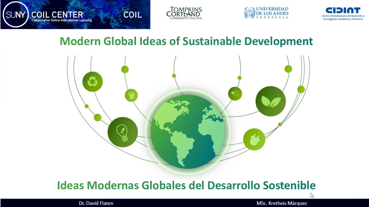 Course:  Modern Global Ideas in Sustainable Development