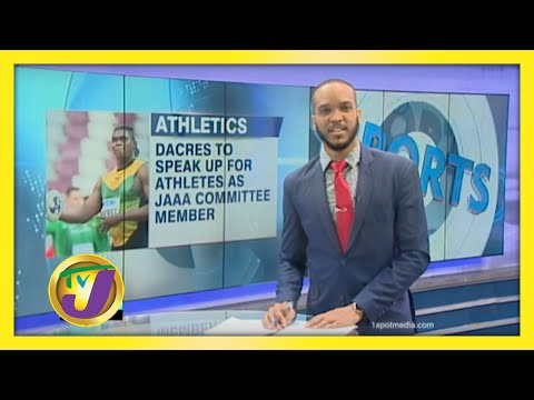 Dacres to Speak up for Athletes in New Role   TVJ Sports News
