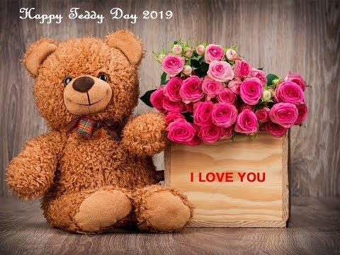 Teddy Day Images: Cute Teddy Bear Photos 2019 With Love Quotes हैप्पी टेडी डे