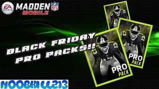 Madden Mobile 16| 400k Black Friday Pro Packs Opening!!