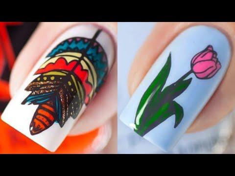 The Best Nail Art Designs Compilation #193 - Nail Art Design Tutorial thumbnail