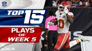 Top 15 Plays of Week 5 | NFL Highlights