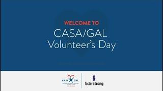 CASA GAL Volunteer's Day Virtual Celebration - May 18, 2021