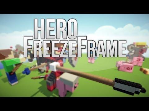 Minecraft - HERO - Cinematic/ FreezeFrame