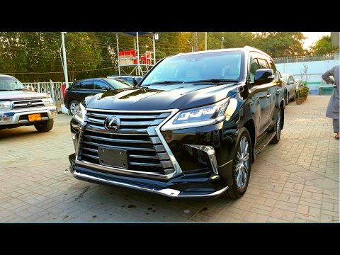 2017 Lexus Lx 570 Startup Exhaust Interior Exterior In Depth Review Youtube