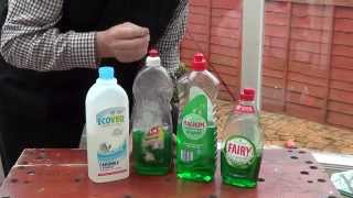 Window Cleaning Tips - What is the best Washing-Up Liquid?