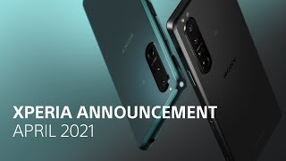 Xperia Announcement April 2021