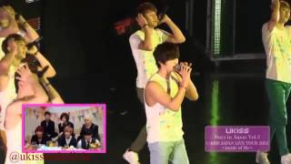 U-KISS MAN MAN HA NI CUT - DVD DAYS IN JAPAN VOL 3