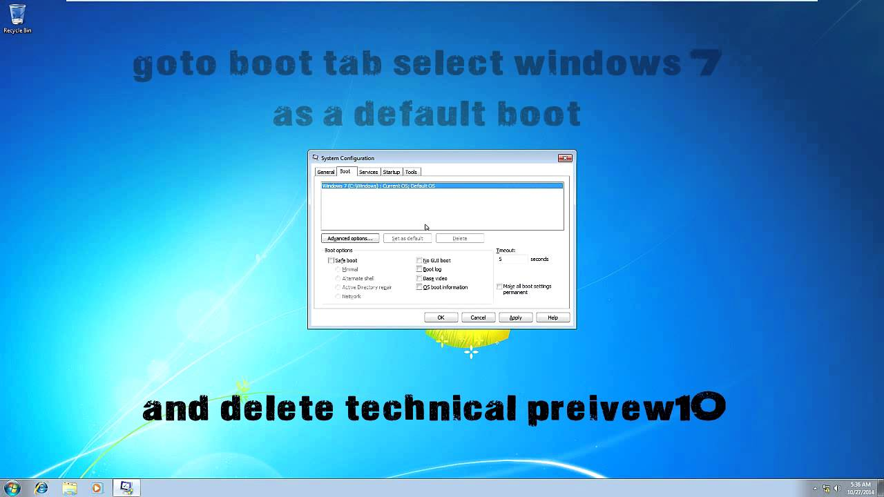 how to delete and reinstall windows 10