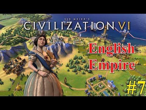 Civilization VI | English Empire Gameplay | Kabul In Trouble #7
