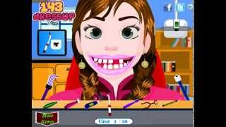 Frozen Anna Tooth Care (Холодное сердце: лечить зубы Анны) - прохождение игры