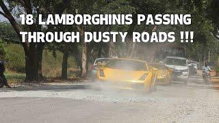Lamborghinis in dusty roads | SupercarsinBangalore | #69