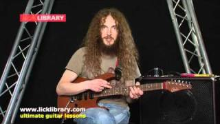 Guthrie Govan - Pitch Axis Theory - Session 14 Licklibrary