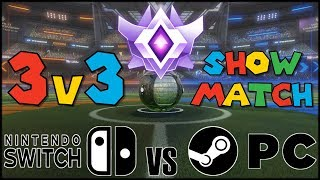 The very FIRST 3 Nintendo Switch Rocket League GCs take on their PC rivals in this casted best of 5 match-up presented by Rocket Sledge and the Indy ...