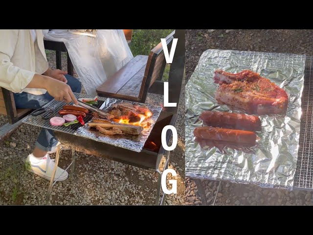 [sub] 고양 플랜테이션 💚숲속의 바베큐🥩| 실외 데이트 추천 | 경기 근교 데이트 | BBQ in the Forest | Recommend an Outdoor Date