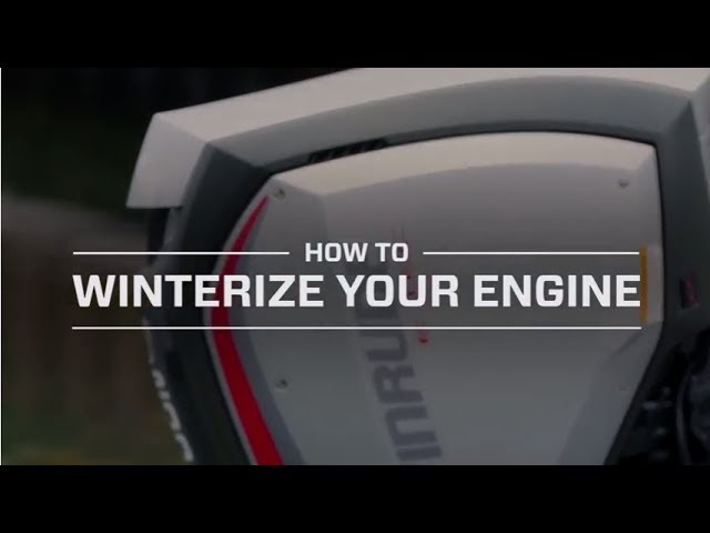 How To: Winterize your outboard engine
