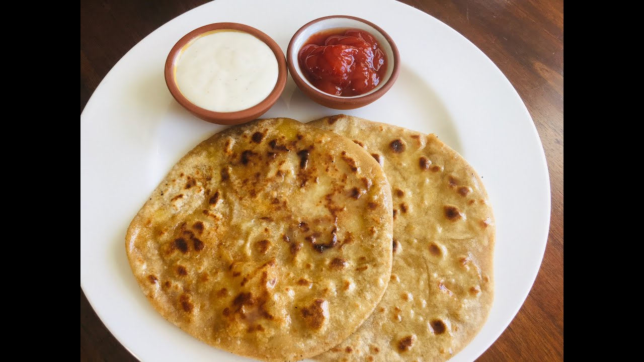 Aloo Paratha- Potato stuffed flat bread