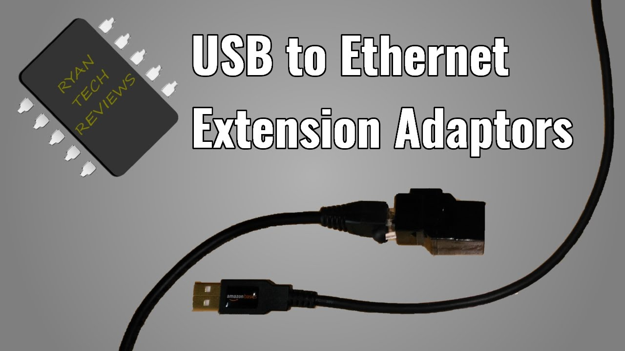 How To Make a pair of USB over Ether adaptors
