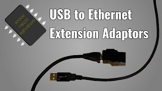 How To Make a pair of USB over Ethernet adaptors | Ethernet Extension Cable