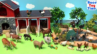 New Farm Animals Toy Figurines