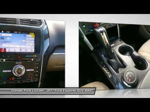Greiner Ford Casper Wy >> 2017 Ford Explorer Casper Wy T8614