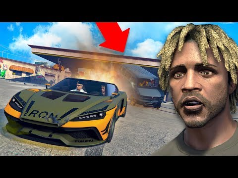 HE DIDN'T EXPECT THIS AT ALL! *INSANE!*   GTA 5 THUG LIFE #280