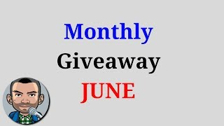 (ENDED) Monthly Giveaway JUNE | Low Budget Gaming