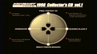 Classic Game Gems: 1998 Collector's CD Vol 1 SquareSoft