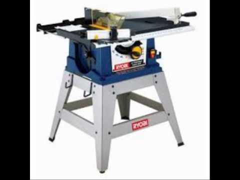 Ryobi 10 in portable table saw with stand youtube Used table saw
