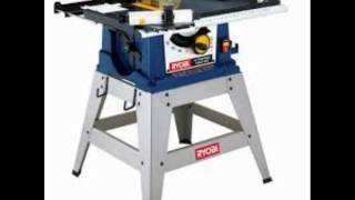 Ryobi 10 In Portable Table Saw With Stand