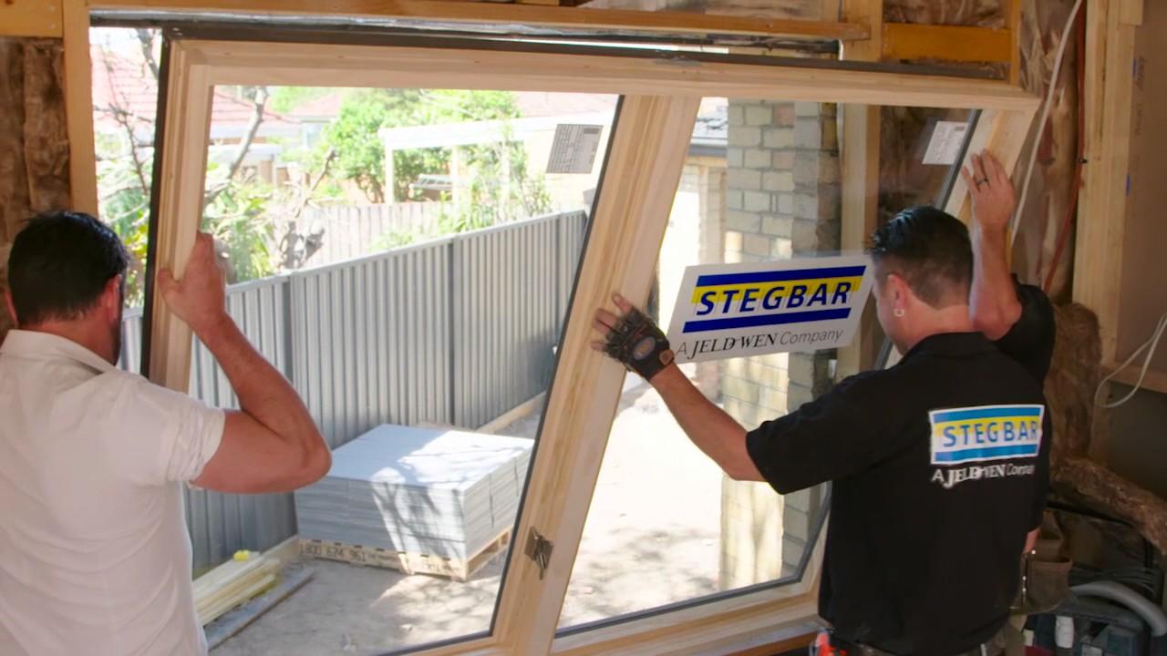 Stegbar Window Install The Home Team 2 E22 Stegbar Youtube