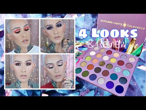 Colourpop X Kathleen Lights So Jaded: 4 Looks & Review thumbnail