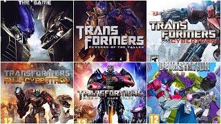 [HD] Transformers Xbox Evolution (2007-2015)